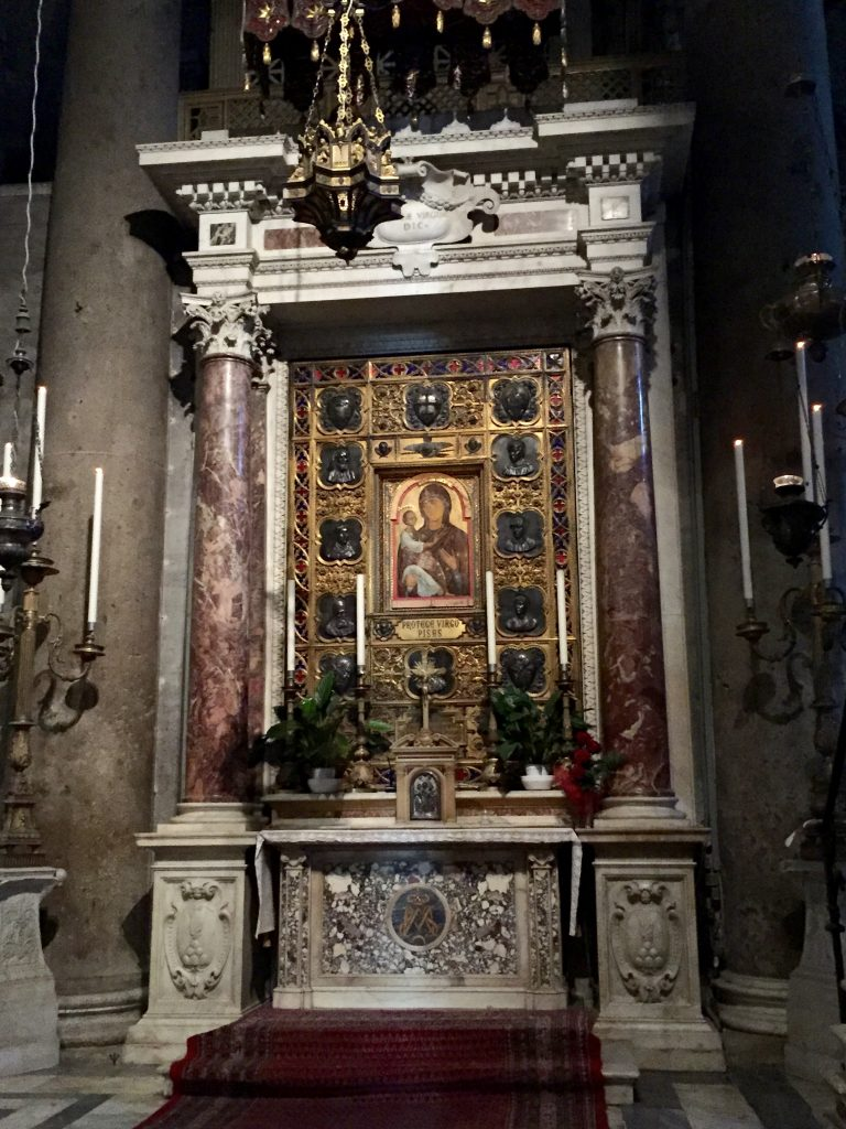 Altar inside the Cathedral