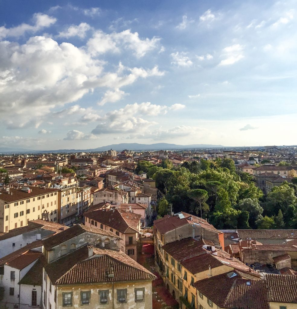 Top of the Leaning Tower