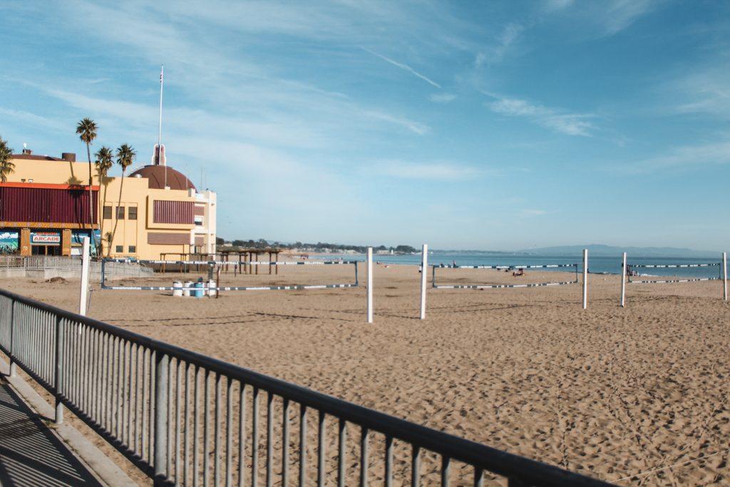 main beach volleyball nets
