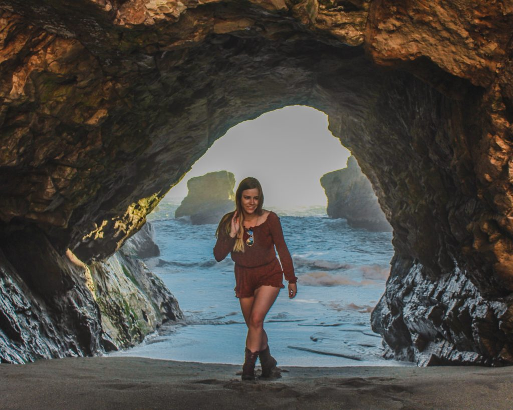 me in the sea cave