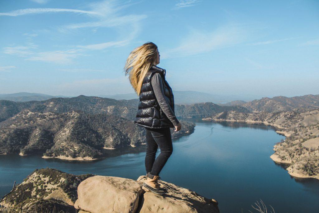 overlooking lake berryessa