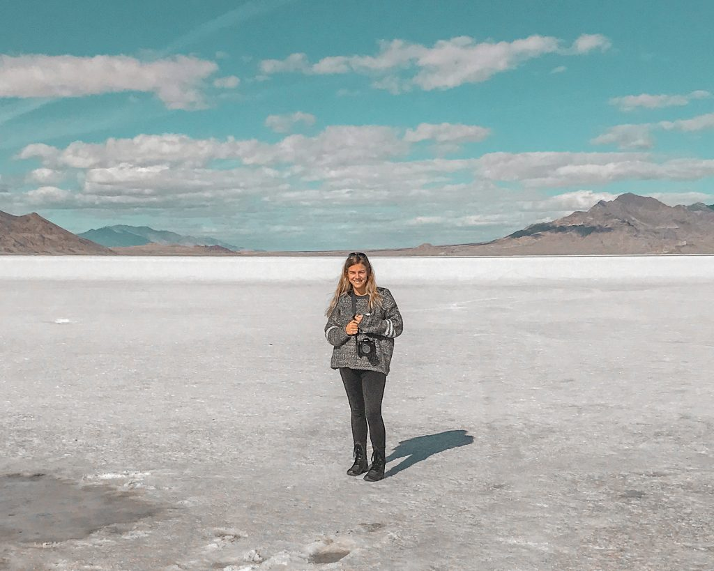 my first time seeing the salt flats