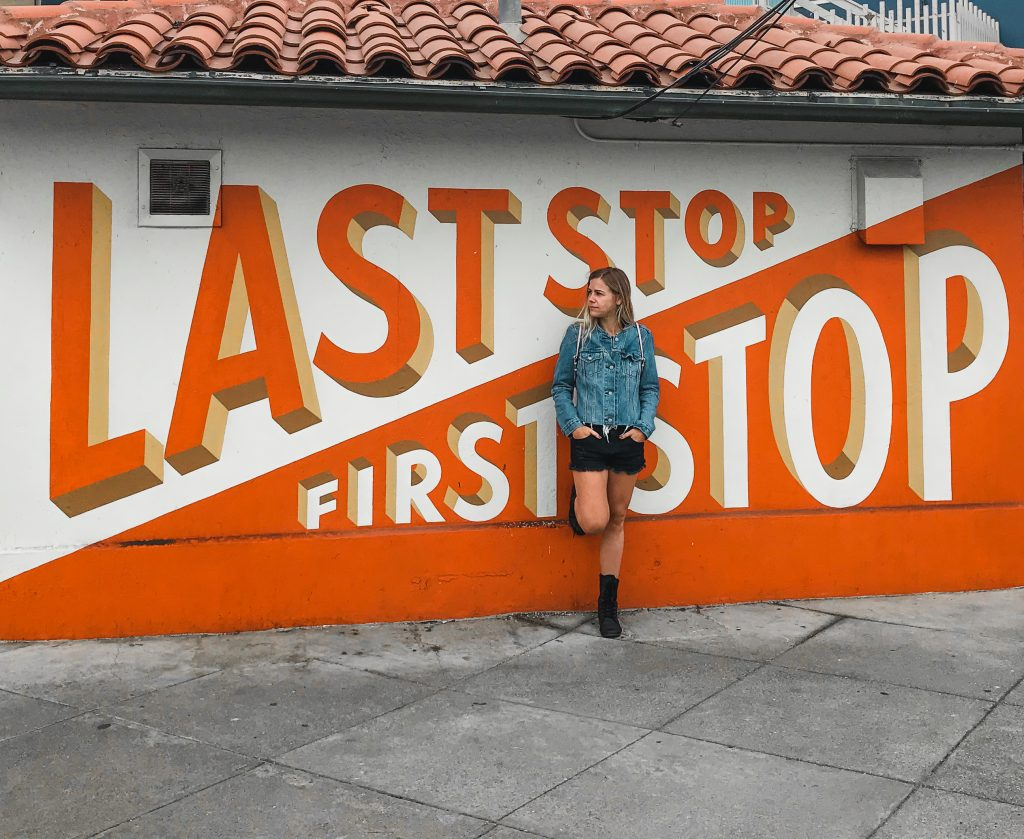 last stop first stop mural