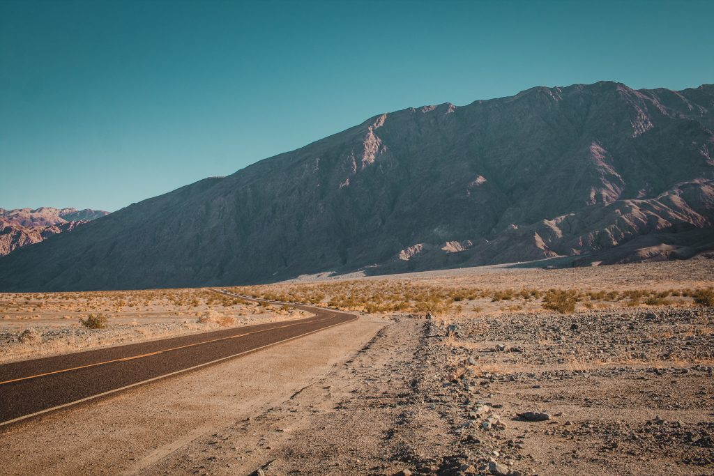views of death valley where to park for sidewinder canyon