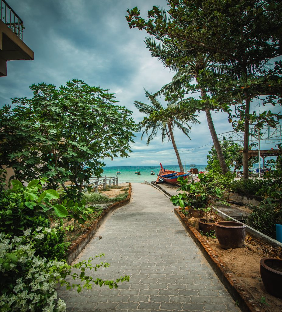 views of sairee beach