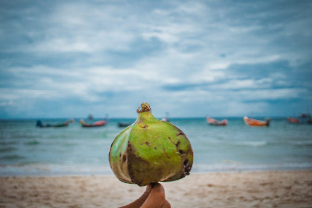 coconut at sairee beach