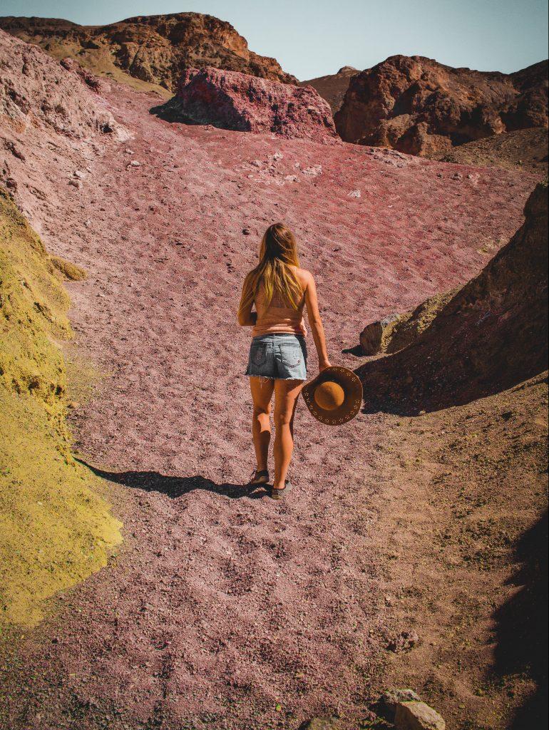 artists palette's purple gravel