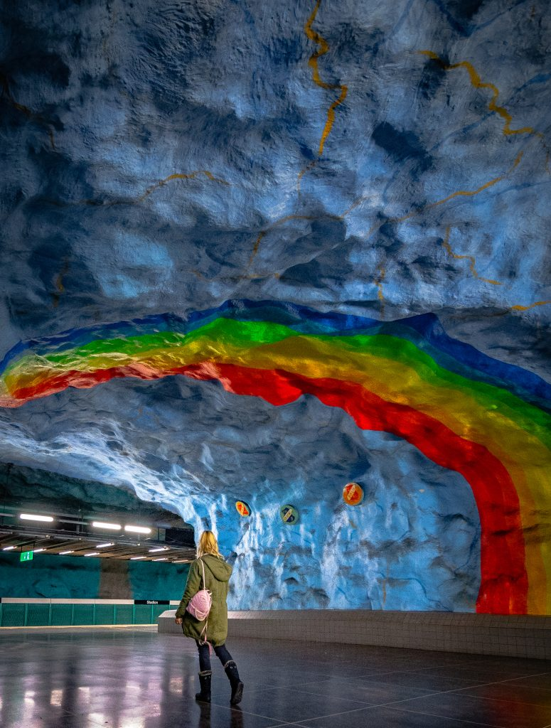 me in the rainbow station of stadion