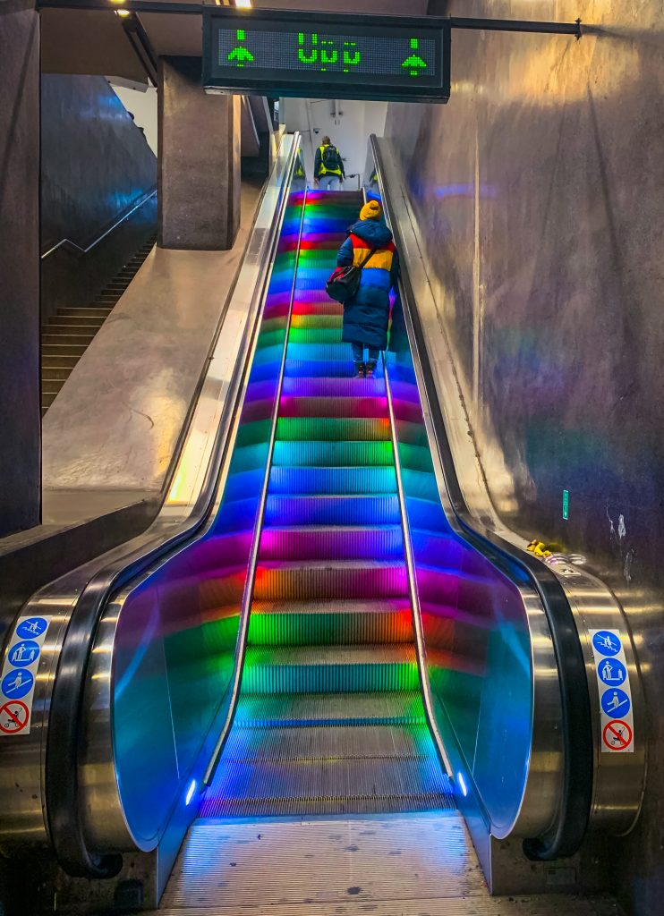 rainbow elevator